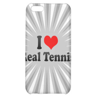 I love Real Tennis iPhone 5C Cases