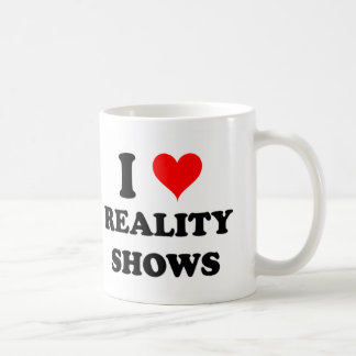 I Love Reality Shows Mug
