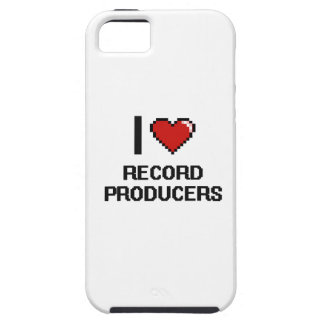 I love Record Producers iPhone 5 Cover