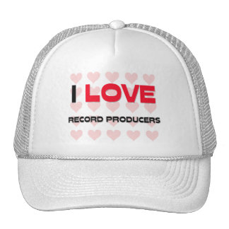 I LOVE RECORD PRODUCERS MESH HAT