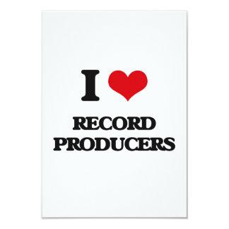 I love Record Producers Invitations