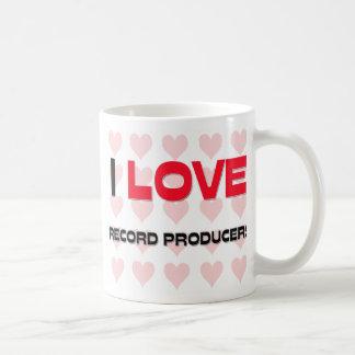 I LOVE RECORD PRODUCERS MUG