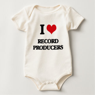 I love Record Producers Rompers