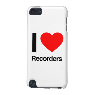 i love recorders iPod touch 5G cover