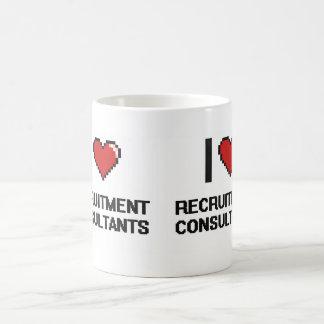 I love Recruitment Consultants Basic White Mug