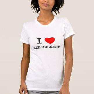 I Love Red Herrings T-Shirt