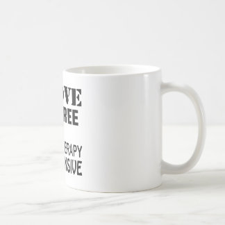 I Love Referee Because Therapy Is Expensive Coffee Mug