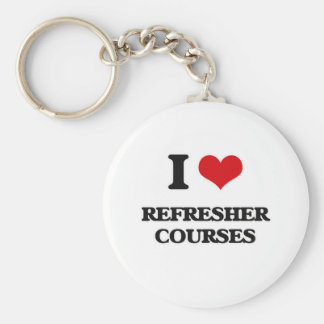 I Love Refresher Courses Key Ring