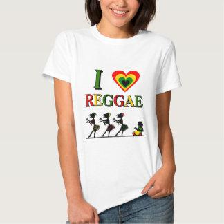 I Love Reggae Shirts