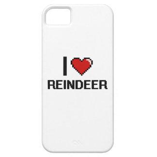 I love Reindeer Digital Design iPhone 5 Case