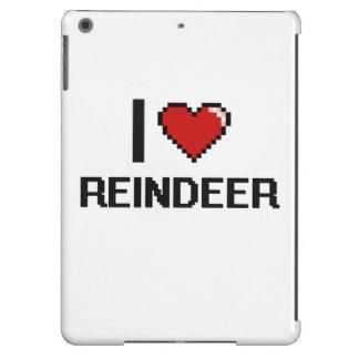 I love Reindeer Digital Design iPad Air Case