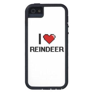 I love Reindeer Digital Design iPhone 5 Cases
