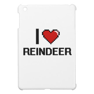 I love Reindeer Digital Design Case For The iPad Mini