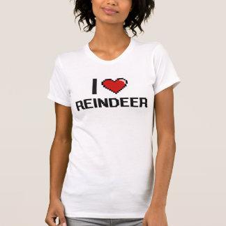 I love Reindeer Digital Design Shirts