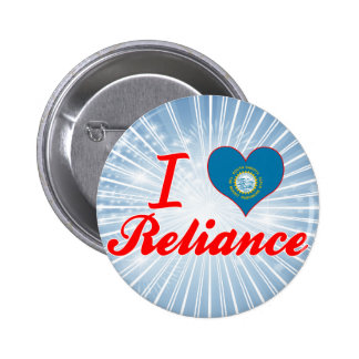 I Love Reliance, South Dakota Pinback Buttons