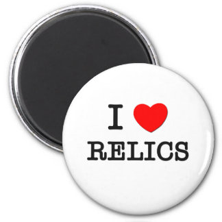 I Love Relics Magnets