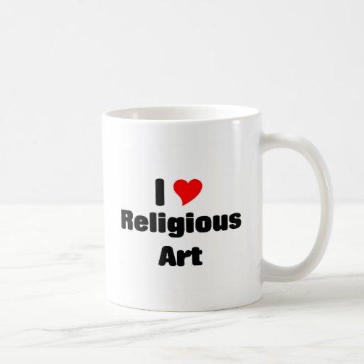 I love Religious art Coffee Mug