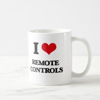I Love Remote Controls Coffee Mug