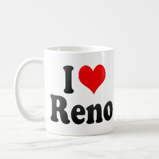 I Love Reno, United States Coffee Mug