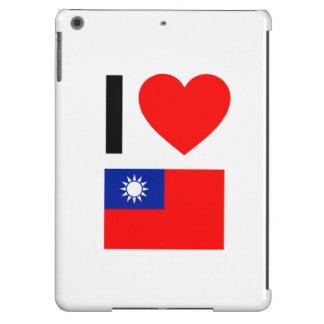 i love republic of china iPad air cases