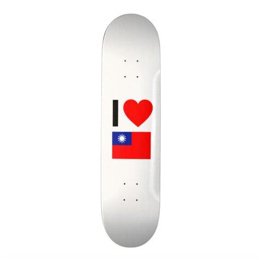 i love republic of china skate boards