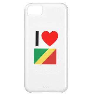 i love republic of the congo iPhone 5C case