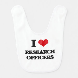 I love Research Officers Baby Bib