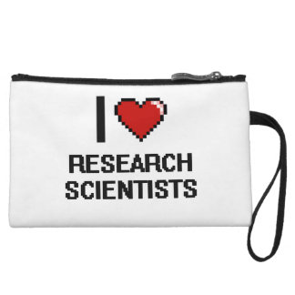 I love Research Scientists Wristlet Clutches