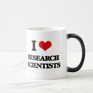 I love Research Scientists Morphing Mug