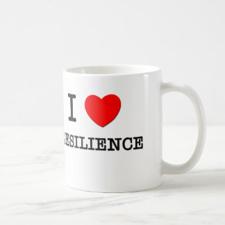 I Love Resilience Basic White Mug