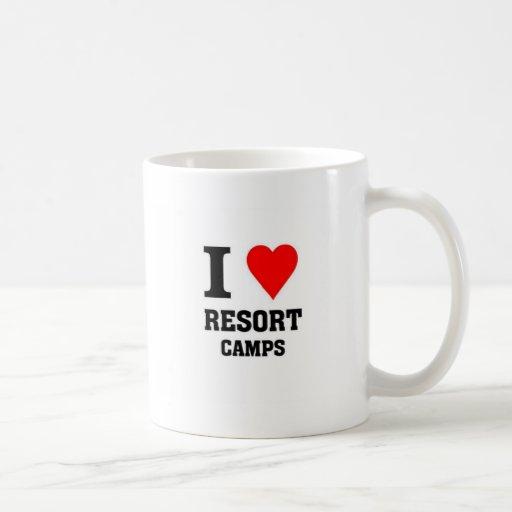 I love Resort Camps Mug