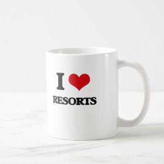 I Love Resorts Basic White Mug
