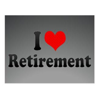 I love Retirement Postcards