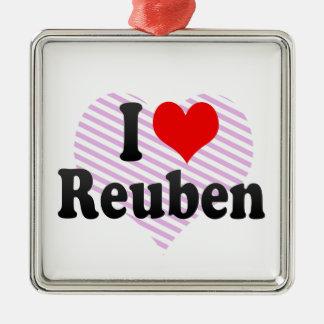 I love Reuben Ornaments