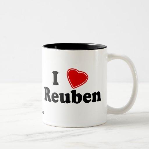 I Love Reuben Coffee Mugs