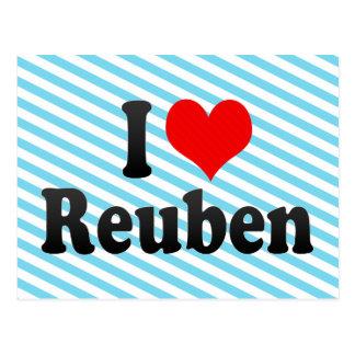 I love Reuben Post Cards