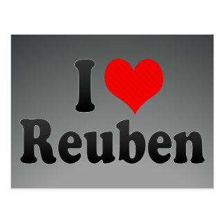 I love Reuben Postcards