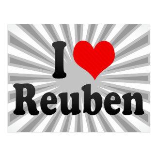 I love Reuben Post Card