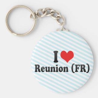 I Love Reunion (FR) Key Chain