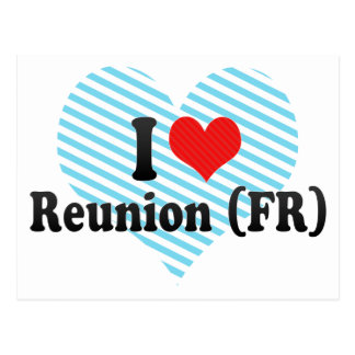 I Love Reunion (FR) Postcards