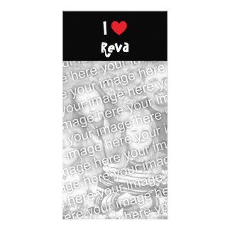 I Love Reva Photo Card