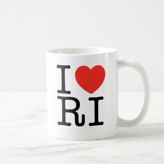 I LOVE RHODE ISLAND 2 COFFEE MUG