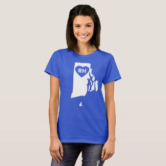 I Love Rhode Island State Women's T-Shirt
