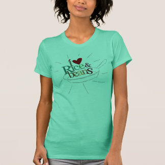 I Love Rice and Beans T-Shirt