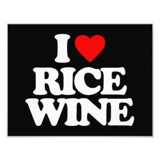 I LOVE RICE WINE PHOTO
