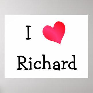 I Love Richard Poster
