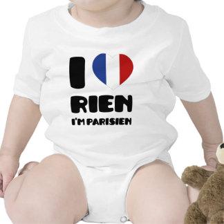 I Love 'Rien' I'm Parisien :) Shirts