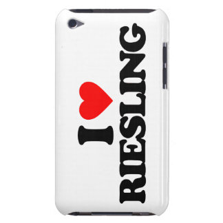 I LOVE RIESLING iPod TOUCH CASE