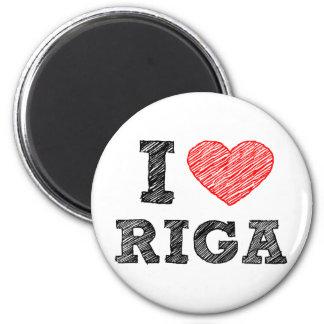 I Love Riga Magnet