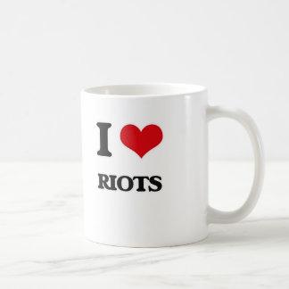 I Love Riots Coffee Mug